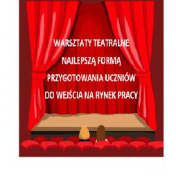 Warsztaty teatralne najlepszą formą przygotowania uczniów do wejścia na rynek pracy