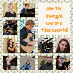 EARTH SONGS. WE ARE THE WORLD